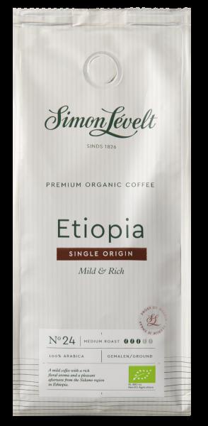 Ethiopië Premium Organic Coffee - snelfiltermaling 250g