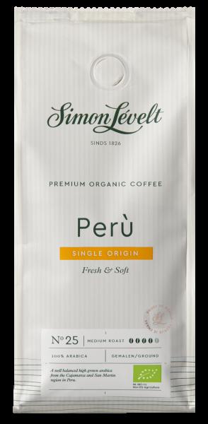 Peru Premium Organic Coffee - Snelfiltermaling 250g