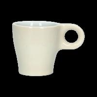 Espressokopje 'One' Ivoor