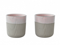Toast MU espressokop Grey/Pink 80 ml