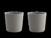 Toast MU teacup set Grey 200 ml