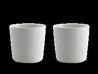 Toast MU teacup set White 200 ml