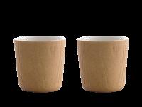 Toast MU teacup set Oak 200 ml