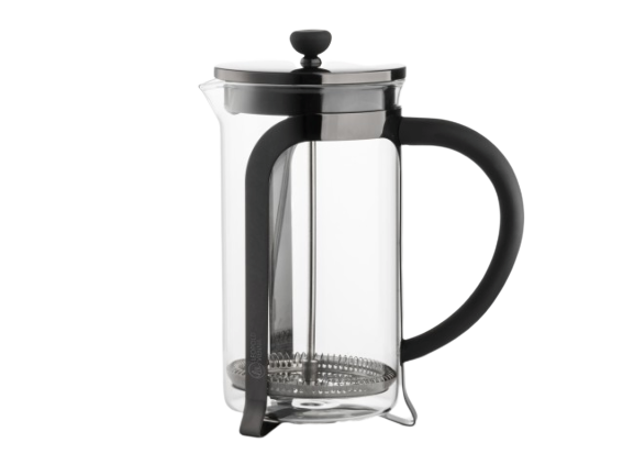 Leopold Cafetiere Shiny Black 1000ml