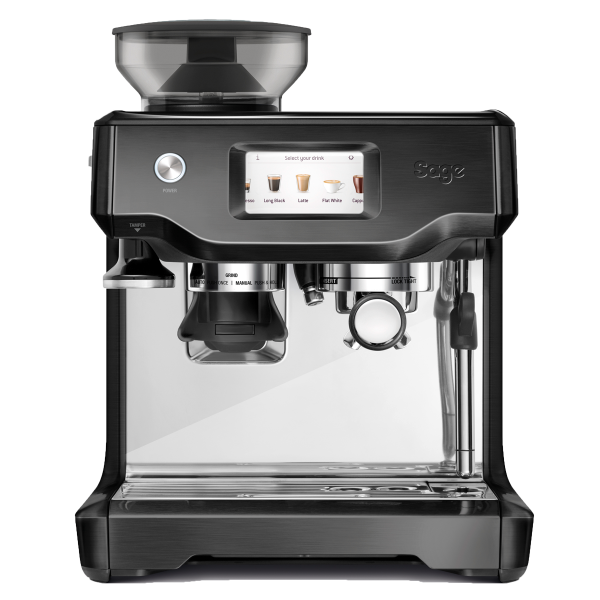 Sage Barista Touch Black Stainless Staal.