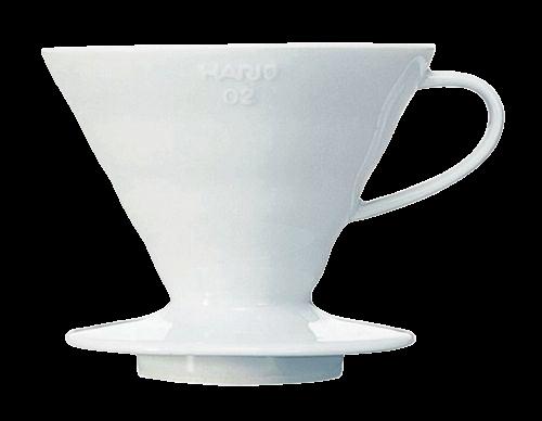Hario Dripper Wit porselein Nr.02