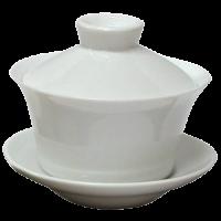 Gaiwan bone china wit