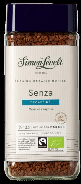 Cafeïnevrije oploskoffie Premium Organic Coffee - 100g