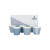 Tokyo Design Nippon Blue mok set van 6