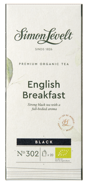 English Breakfast Premium Organic Tea - 20 theezakjes