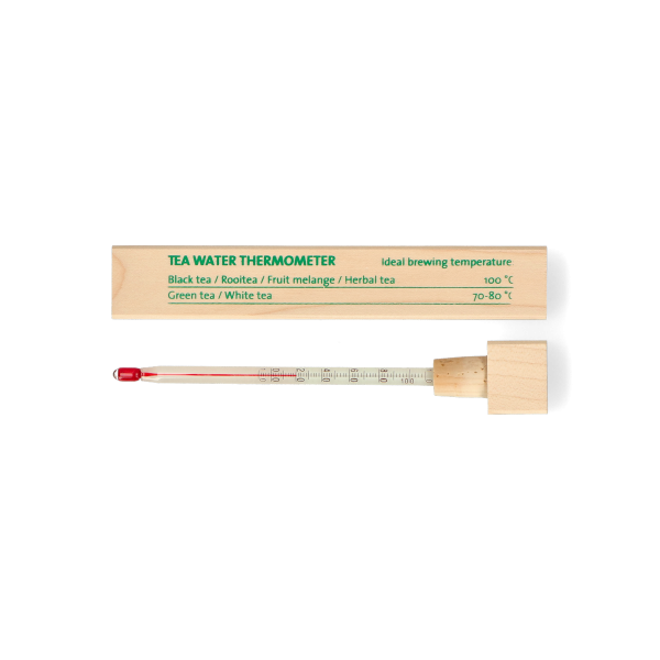 Theewater thermometer hout
