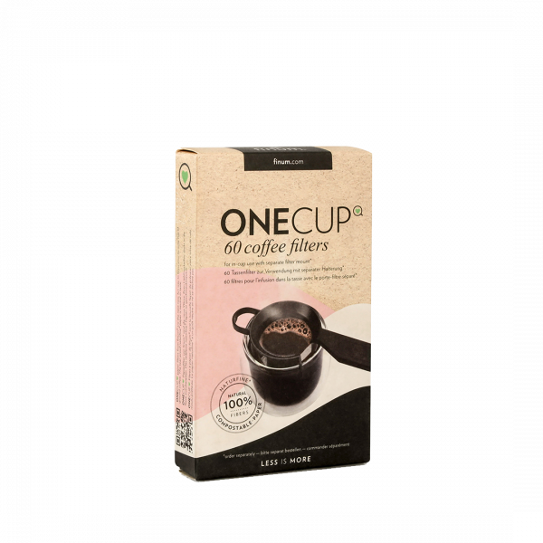 Finum One cup filters