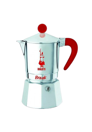 Bialetti Break Rood 3 kops