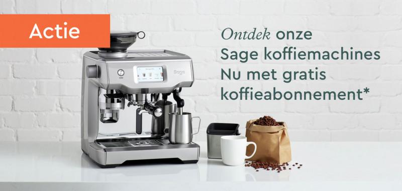 Sage koffiemachine met gratis koffieabonnement