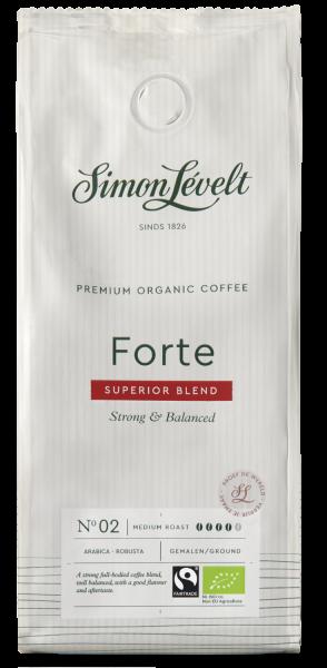 Forte Premium Organic Coffee - Snelfiltermaling 250g