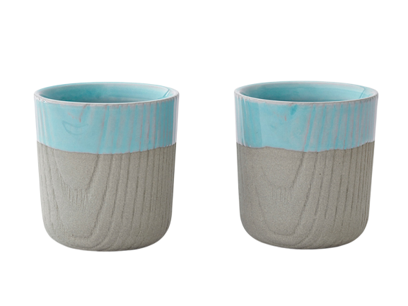 Toast MU espressokop Grey/Blue 80 ml