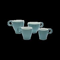 Espressokopje 'One' Bloem zwart